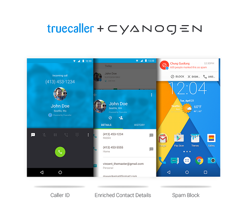 cyanogen-truecaller