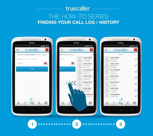 finding your call log