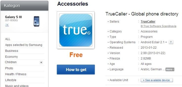 download truecaller for samsung