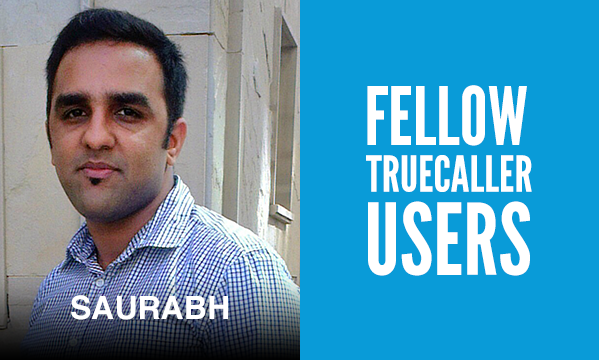 Saurabh TRUECALLER USERS