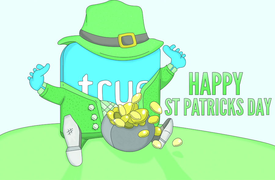 St patricksday illustration