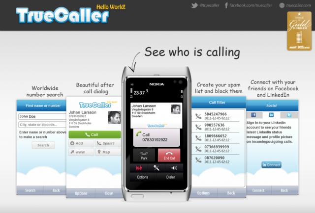 Truecaller 2.70 Nokia Symbian