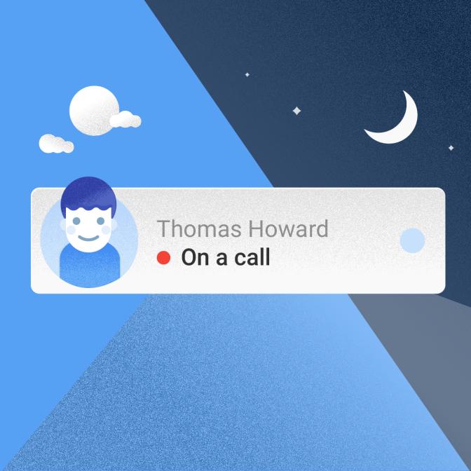هل أصدقاؤك متاحين للتكلم على الهاتف؟ أعرف ذلك قبل الاتصال بهم