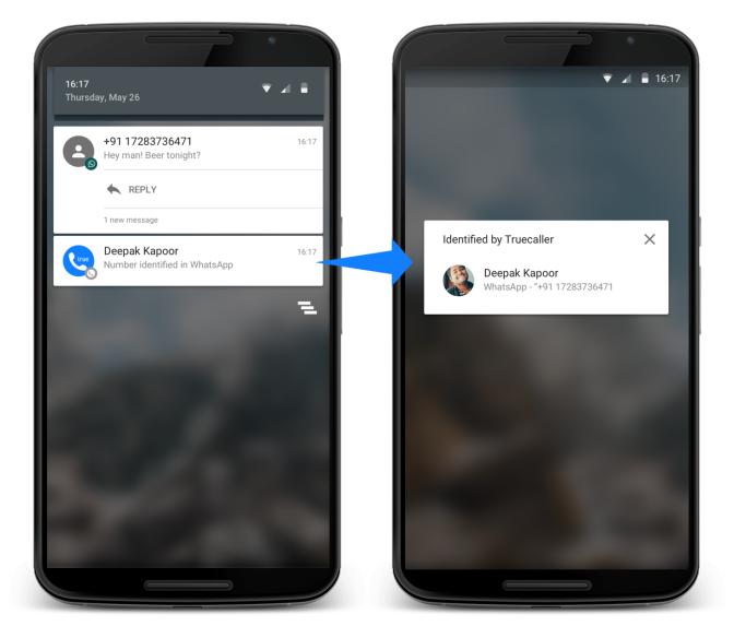 Identify Unknown Senders on Messaging Apps
