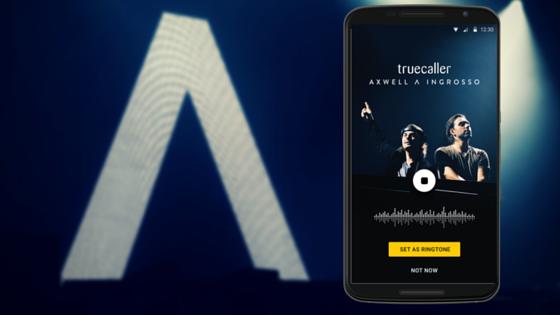 Truecaller Adds Exclusive Axwell Λ Ingrosso Ringtone to App
