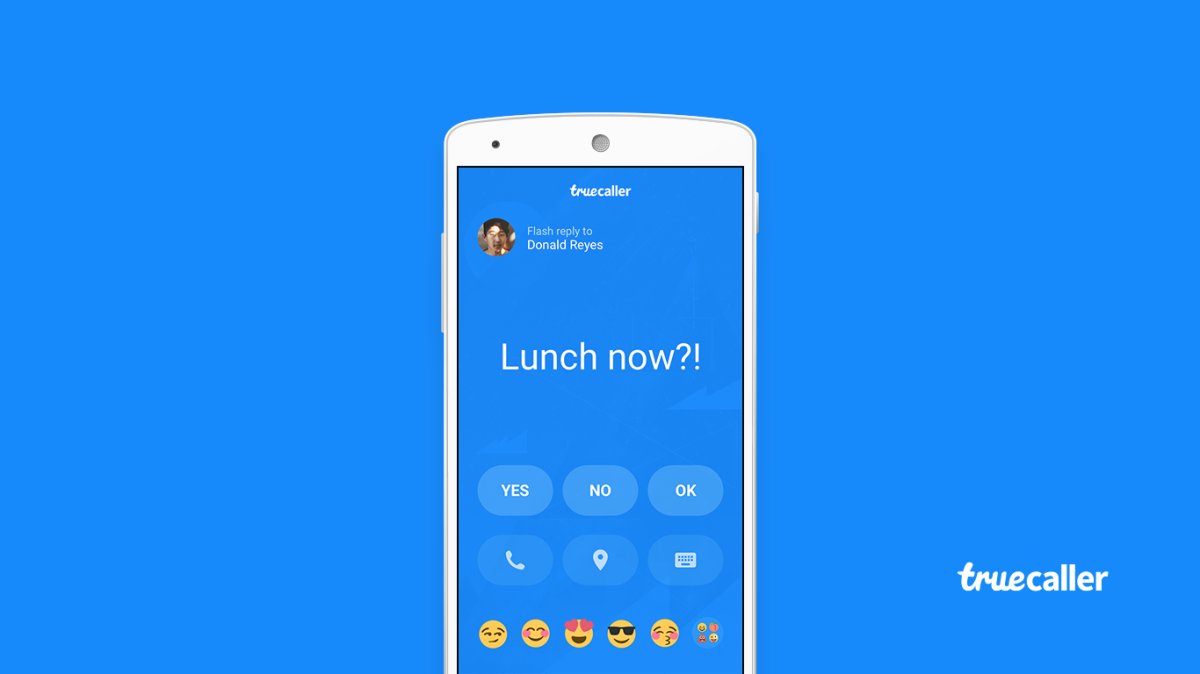 Send Quick Flash Messages on Truecaller