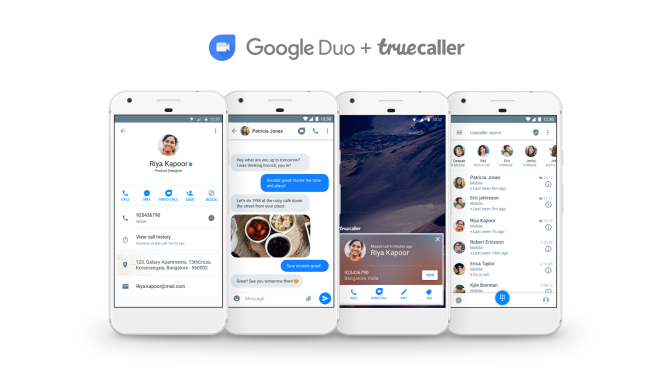 Truecaller Launches Video Calling with Google Duo!