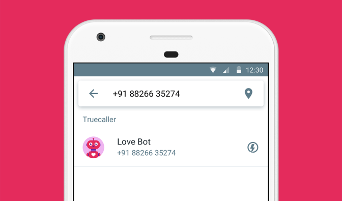 Show Love with Truecaller Flash