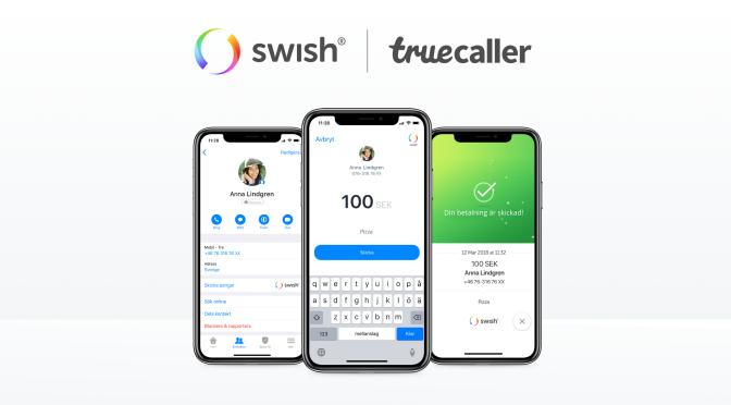 Truecaller lanserar betalningar med Swish